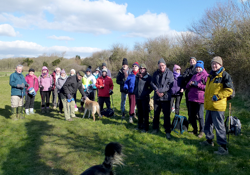 SW Coastal path walk Feb 18