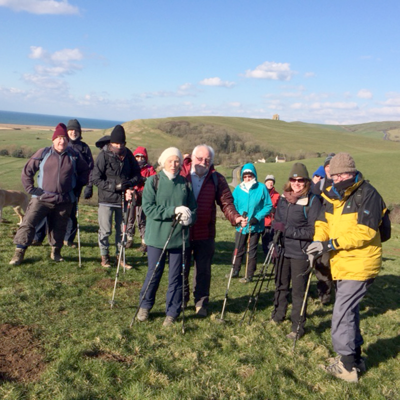 SW Coastal path walk 3 Feb 18